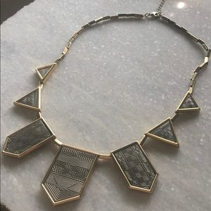House of Harlow Geo Statement Necklace